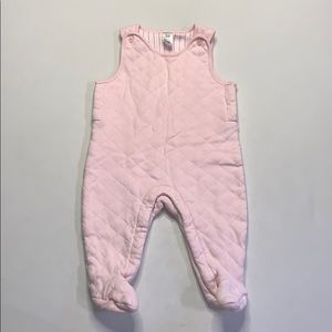 Baby Gap Footed Bodysuit Pink 3-6 Months
